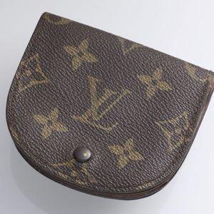 Authentic Louis Vuitton Monogram Coin Case